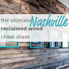 the ultimate sheet to reclaimed wood in nashville marcelle