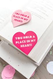 valentine u0027s day heart bookmark hey let u0027s make stuff