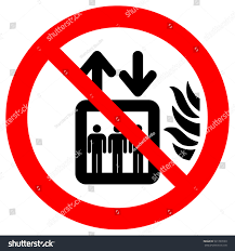 Elevator Symbol Floor Plan Do Not Use Lift Event Fire Stock Vector 521720590 Shutterstock