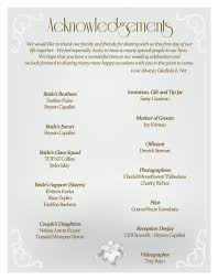 Wedding Reception Program Sample Ideas For A Wedding Reception Program Wedding Invitation Sample