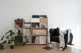 raumteiler verschiebbar schallplattenregal inspiration lounge vinyl schallplatten