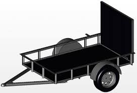 utility trailer archives free utility trailer plans