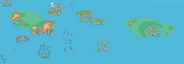 Sinnoh Map Pokémon World Maps Page 40 Bulbagarden Forums