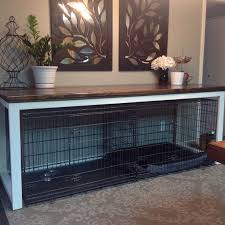 Diy End Table Dog Crate by 25 Best Kennel Ideas Ideas On Pinterest Dog Crate Dog Crates