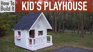 how to build a playhouse 4 ways to build a playhouse wikihow best
