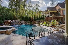 Biggest Backyard Pool by Custom Pool Builders Raleigh Nc Blue Haven Pools U0026 Spas