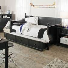 black daybed with trundle foter