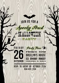halloween party invite template virtren com