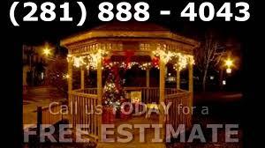 christmas lights installation houston tx houston christmas light installation holiday decoration installs