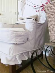 Slipcovers Made From Drop Cloths Drop Cloth Slipcover With Pleats Family Room Pinterest Drop