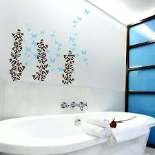 warm art for bathroom walls bathroom wall stickers wash your hands