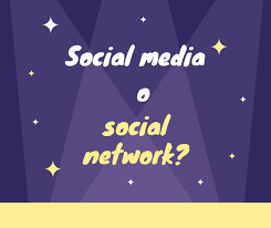si e social but social media e social non sono sinonimi come comunemente si