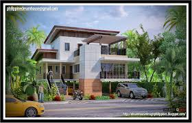 Narrow Lot Home Designs Philippine Dream House Design Mediterranean House 2 Modern Small House