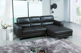 Top Grain Leather Sectional Sofa Bone Colored Top Grain Leather Sectional Sofa With Chrome Legs