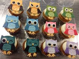 cute owl cupcakes cake owl cakes and sweet tooth