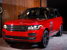 red range rover here u0027s the ultra luxe suv range rover has been saving for a