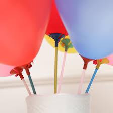 balloon sticks aliexpress buy 10 sets lot 40cm balloon stick white
