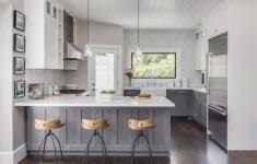 top dark gray kitchen cabinets