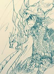 train dragon books fanart hiccup 3 dragons