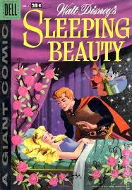 dell giant sleeping beauty 1959 comic books