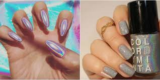 holographic nails are instagram u0027s latest obsession holographic