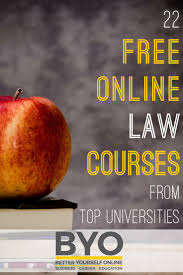 22 free online law courses from top universities here are 22