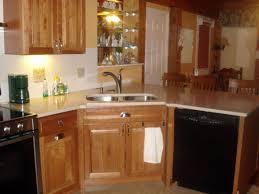 Kitchen Corner Cabinets Custom Kitchen Cabinetscorner Kitchen With Modern Oven And
