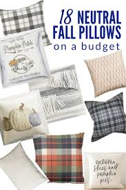 Fall Outdoor Pillows by 18 Favorite Neutral Fall Pillows Fall Pillows Pillows And Fall