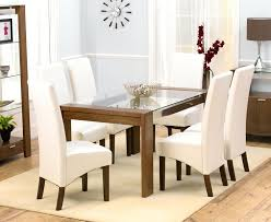 Glass Extendable Dining Table And 6 Chairs Dining Table Set 6 4wfilm Org