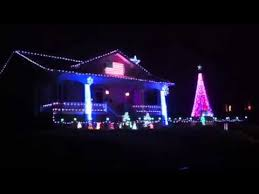 christmas light show house music christmas lights music house ii rogers arkansas youtube