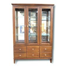 corner china cabinet ashley furniture corner china cabinets cabinet for sale calgary built in plans