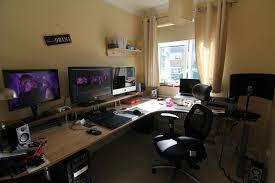 Gaming Desk Ideas Gaming Corner Desk Ideas Home Design Ideas Gaming Corner Desk