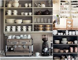 Kitchen Shelves Decorating Ideas by Kitchen Open Shelves Ideas Open Kitchen Shelving Inside Open
