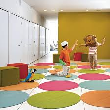 Kids Rooms Rugs by Flor Fuzzy Button Round Carpet Tiles 59 99 4 39 5