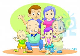 my family stock image royalty free image id 10052232