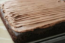 table for 2 or more chocolate hidden banana cake
