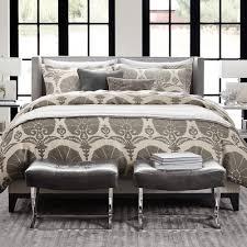 Williams Sonoma Bedding Designer Love Linen Duvet