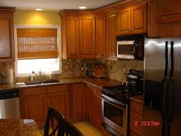 oak cabinet kitchen ideas kitchen with stainless steel appliances and oak cabinets kitchen