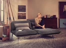 sofa elektrisch verstellbar sofa rolf auf der imm cologne design möbel