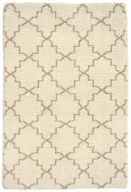 moroccan trellis natural taupe wool loom hooked rug hook u0026 loom