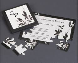 faire part mariage puzzle part puzzle fuji