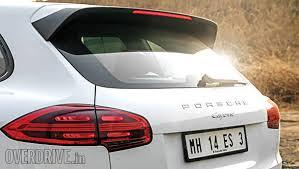 porsche cayenne price in delhi 2015 porsche cayenne diesel india road test review overdrive