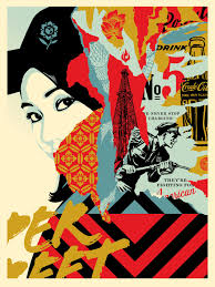 onsale drink crude oil art print from shepard fairey onsale info