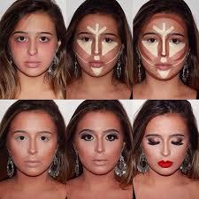 Makeup Contour the contouring technique makeup mania