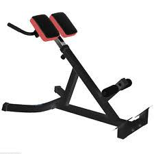 Back Extension Sit Up Bench Fitness Weight Set Strength Training Benches Ebay