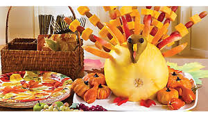 fabulous fruit turkey how to thanksgiving appetizer dessert