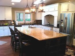kitchen bar giallo ornamental santa cecilia granite
