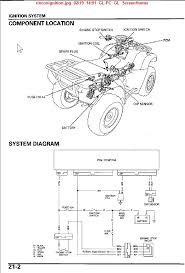 honda rincon wiring diagram honda wiring diagrams instruction