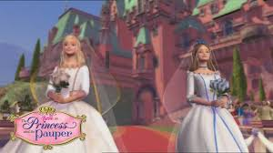 written heart barbie princess pauper