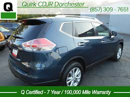 nissan rogue gas mileage 2015 pre owned 2015 nissan rogue sv sport utility in boston cj1507a